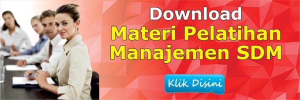 SDM Materi
